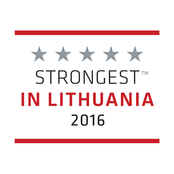Strongest in Lithuanian 2016